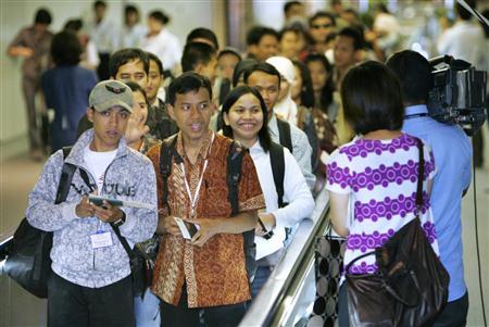 来日したインドネシア人